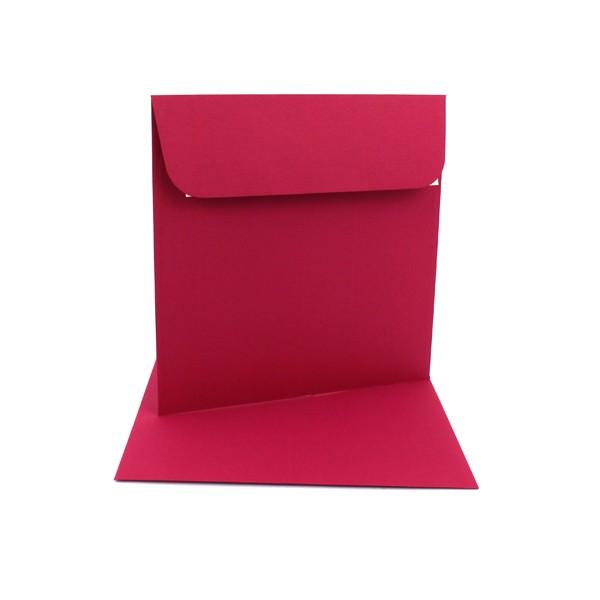 Couvert 16x16, purpurrot