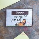 """Magnet Weisheit """"Pferde"""" - """"Brrr nur kein Stress!"""""""