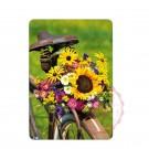 Blumen Fahrrad
