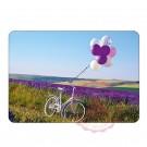 Fahrrad mit Ballone