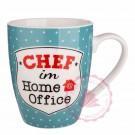 """Tasse """"Chef im Home Office"""""""