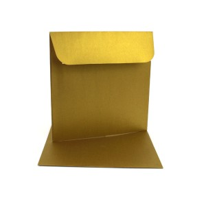 Couvert 16x16, gold Metallic / Pearl