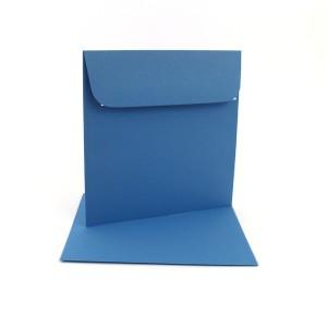 Couvert 16x16, marienblau