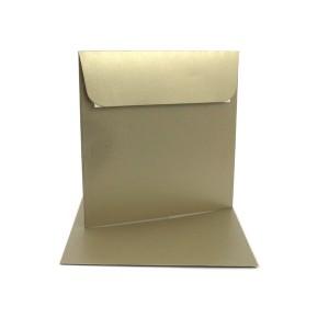 Couvert 16x16, sand Metallic / Pearl