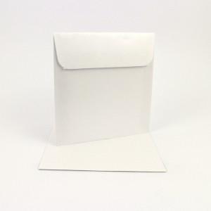 Couvert 16x16, weiss  Metallic / Pearl