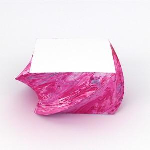 Notizblock_marmoriert_gedreht_Nuancen in pink