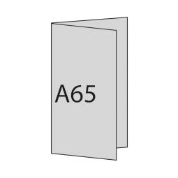 A6/5 hoch links gefaltet