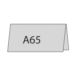 A6/5 quer oben gefaltet